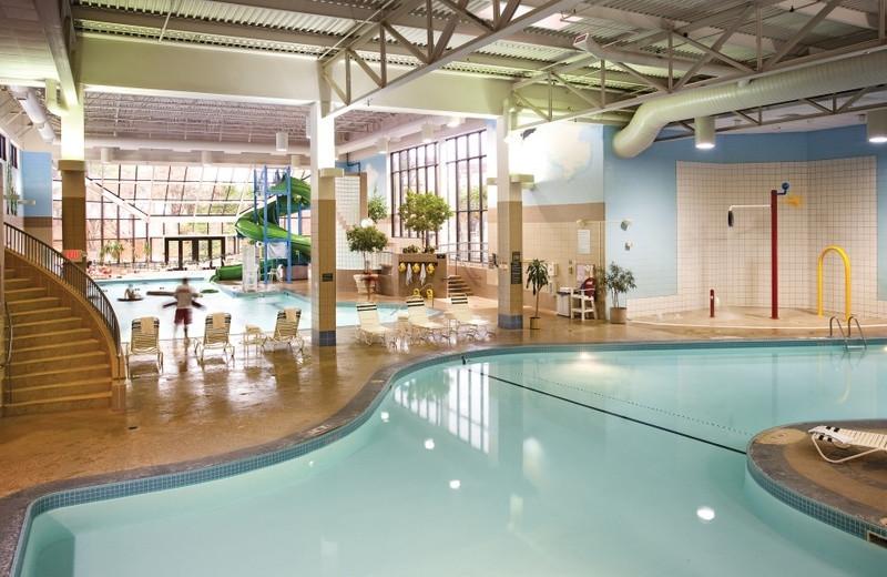 Indoor pool at Grand Traverse Resort.