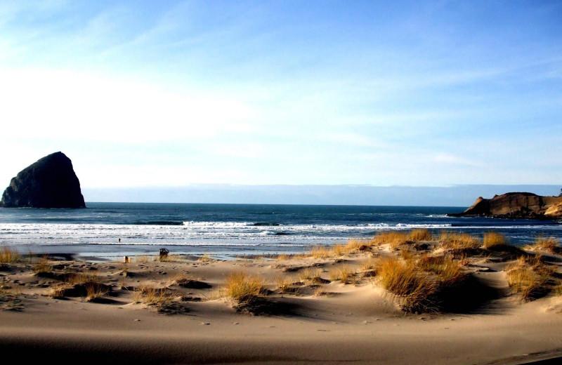Beach at Kiwanda Coastal Properties.