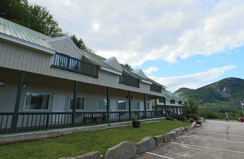 Attitash Motel exterior at North Conway Lodging.