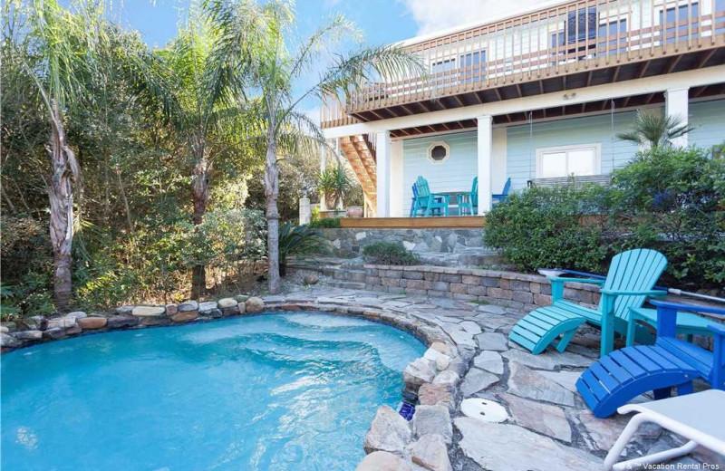 Rental pool at Vacation Rental Pros - St. Augustine.
