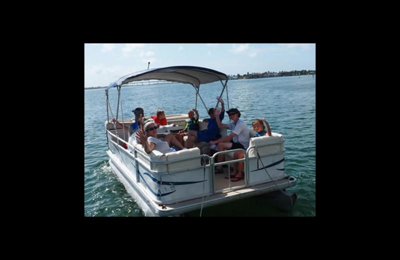 Boating at Sunrise Bay Resort & Club Condominium.