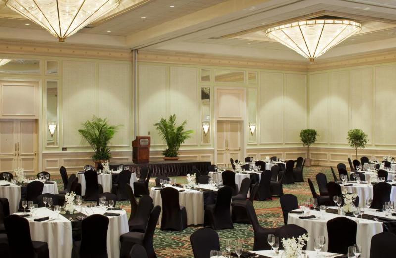 Wedding Setup at  The Westin Hilton