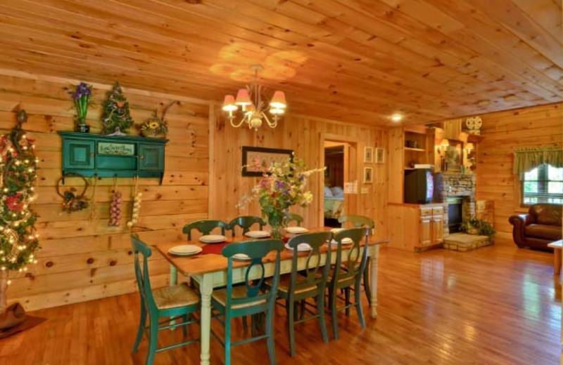 Dining Room at Hidden Mountain Resorts