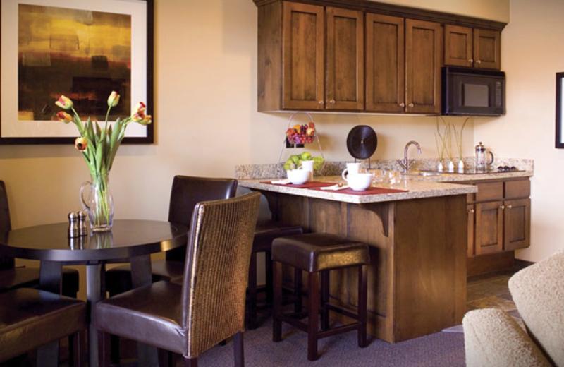 Villa kitchen at Red Mountain Resort & Spa.