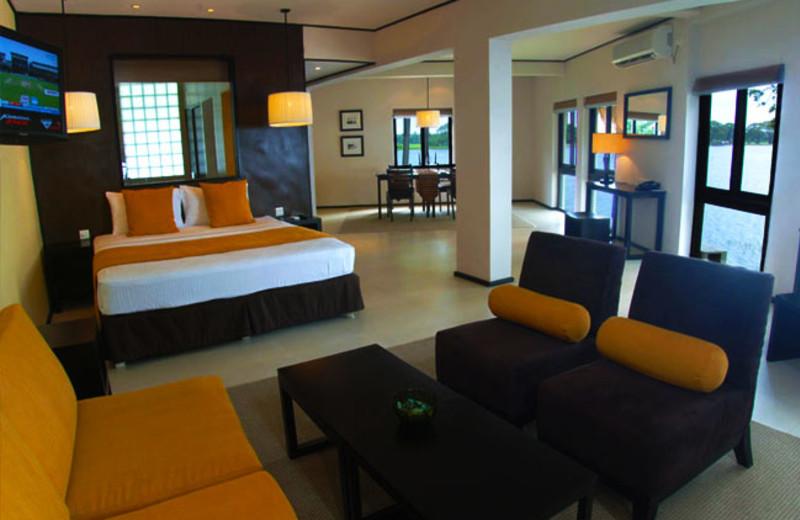 Guest room at Yala Safari Beach Hotel.