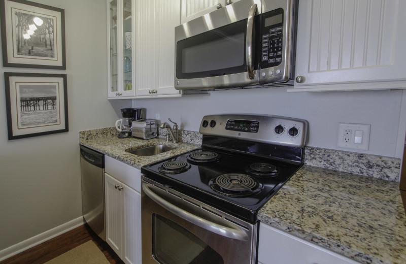 Kitchen at Sea Cabin 302 A.