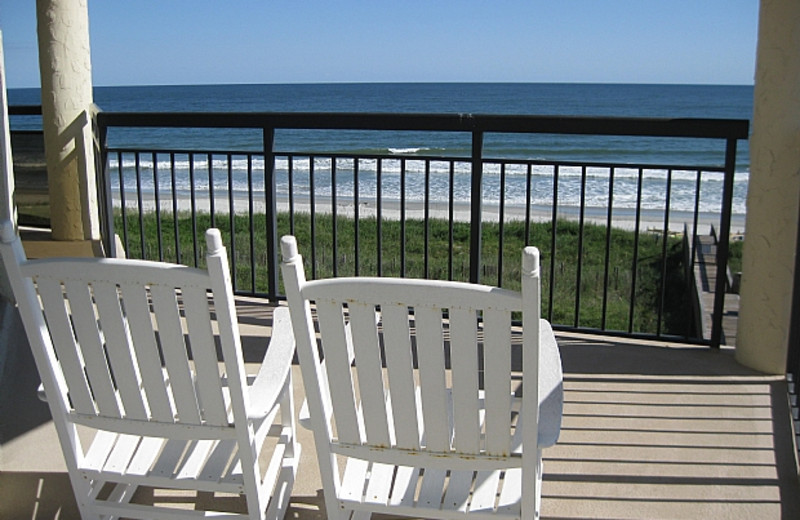 Rental balcony at Williamson Realty. Inc.