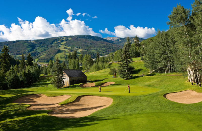 Golf course near Chateau Beaver Creek.