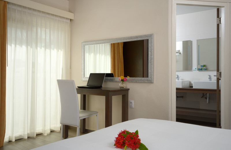 Guest room at Belmar Bonaire.