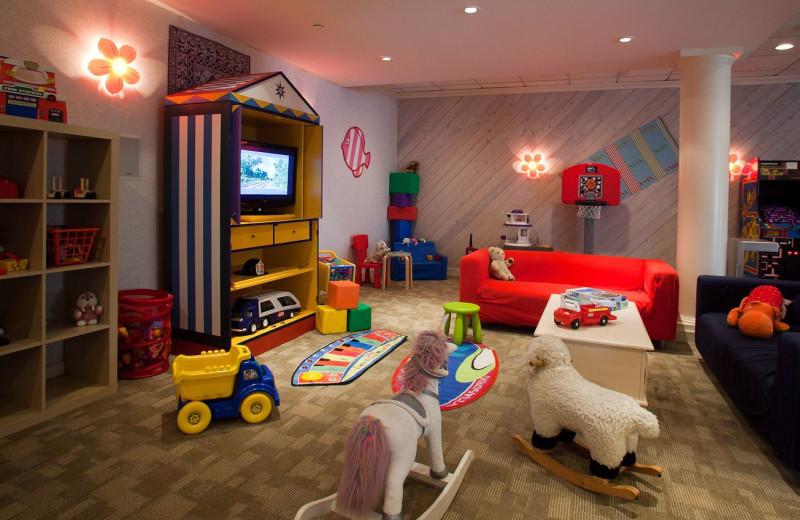 Children's play area at Southampton Inn.