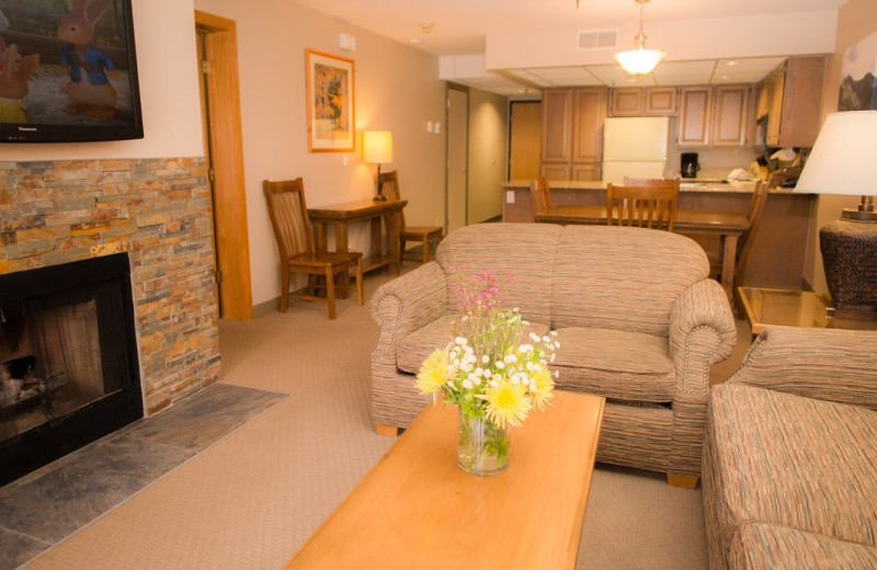 Guest room at Park Plaza Resort.