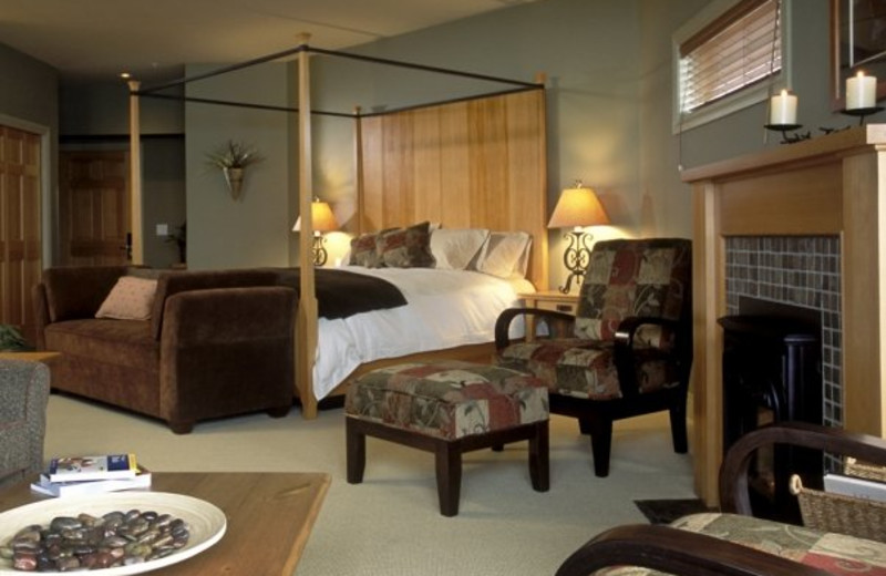 Suite interior at Long Beach Lodge Resort.