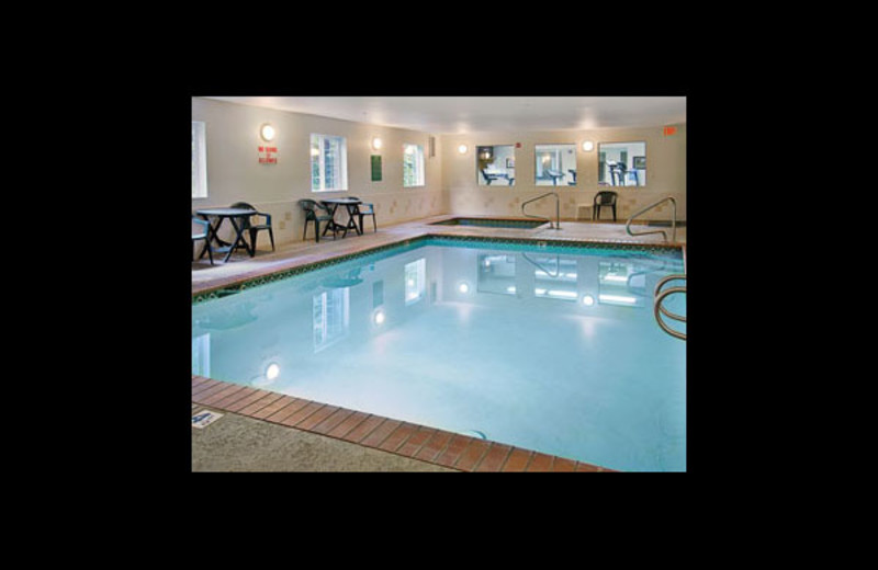Indoor pool at Days Inn Port Orchard.