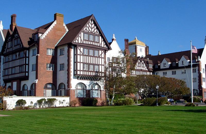 Exterior view of Montauk Manor.