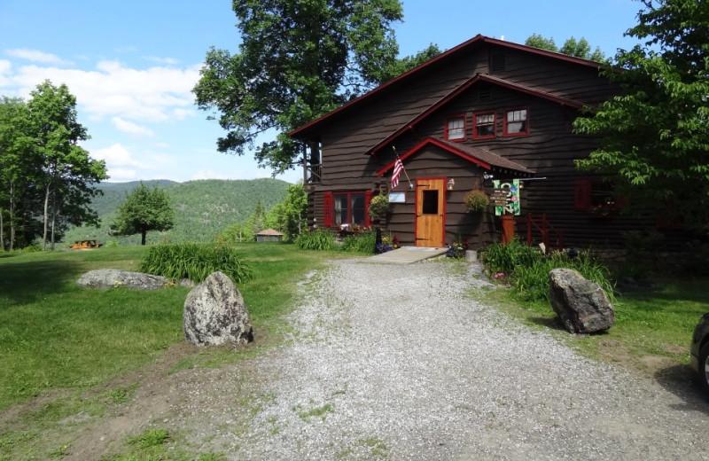 Exterior view at Garnet Hill Lodge.