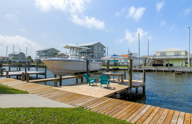Rental dock at Boardwalk Realty Inc.