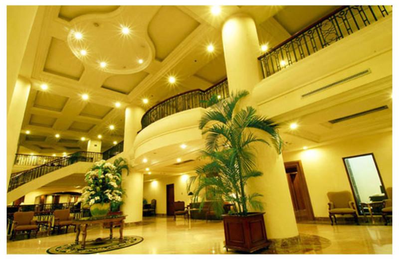 Lobby view at Gran Puri Manado.