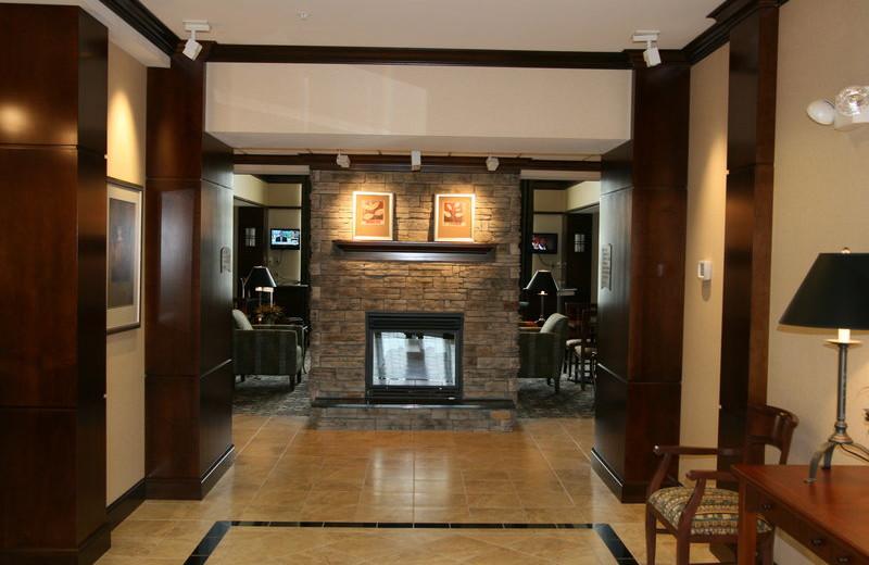 Hotel interior at Staybridge Suites Stow.