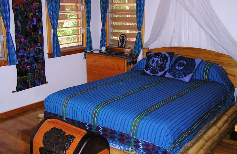 Guest room at Five Sisters Lodge.
