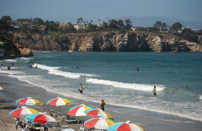 The beach at La Jolla Beach & Tennis Club.