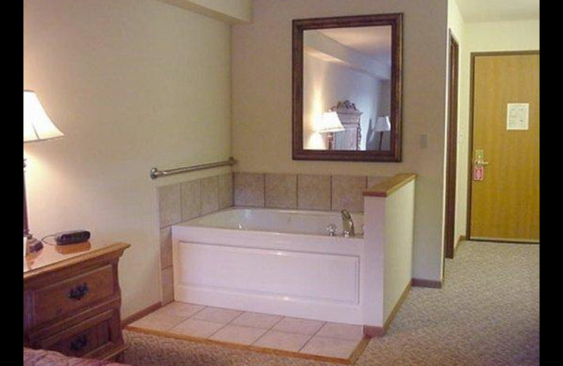 Guest suite at Evergreen Inn.