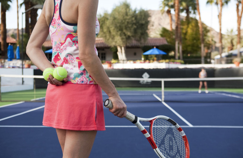 Tennis at La Quinta Resort and Club.