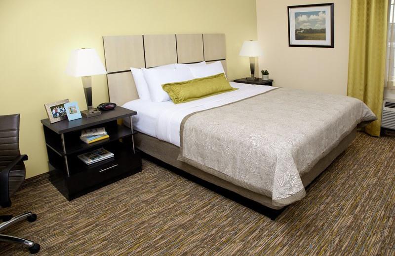 Guest room at Candlewood Suites DETROIT-WARREN.