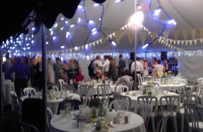 Wedding at Bakers Narrows Lodge.