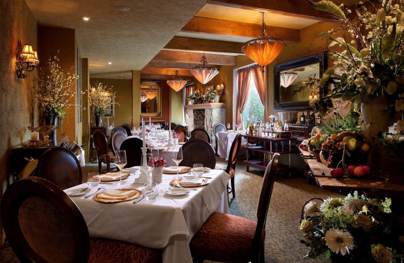 Dining at The Inn at Leola Village.