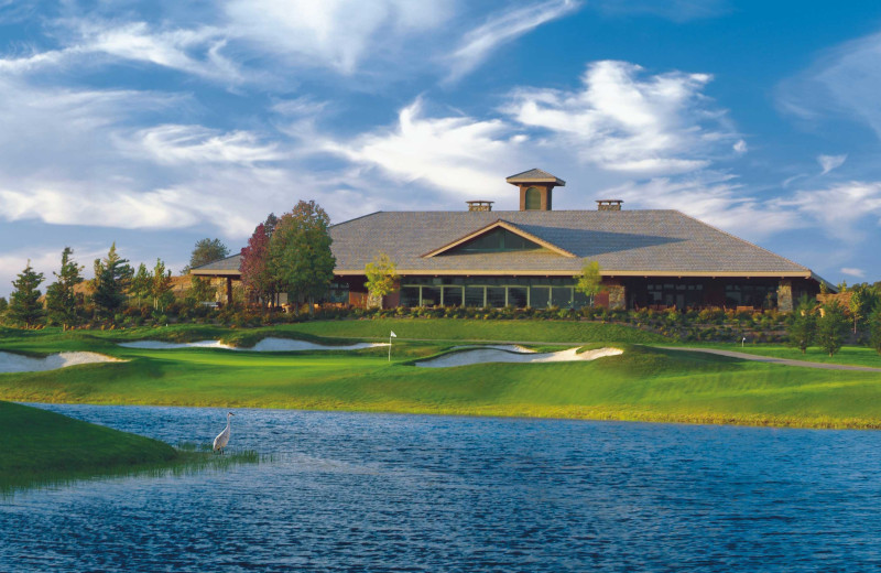 Exterior view of Saddle Creek Resort.