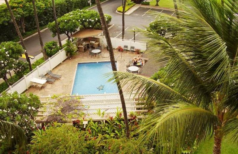 Outdoor pool at Kihei Akahi.