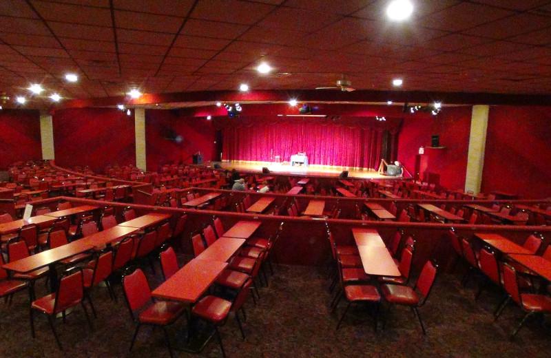 Theater at Villa Roma Resort.