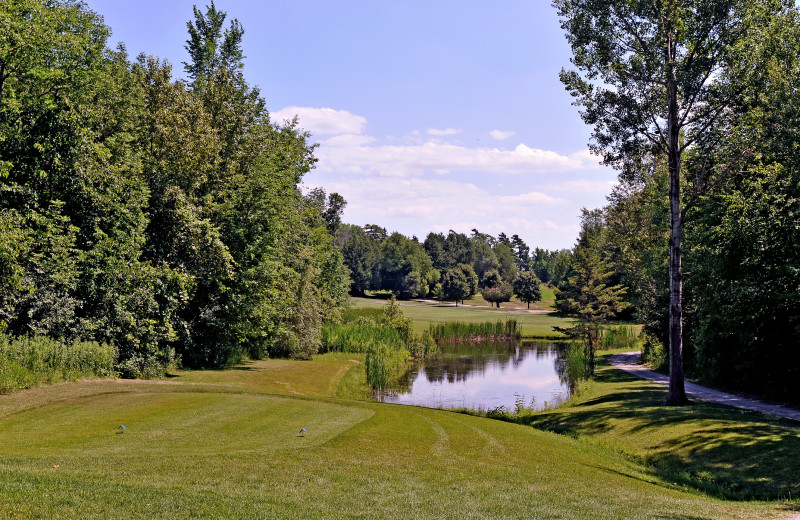 Golf course at Eganridge Resort, Country Club & Spa.