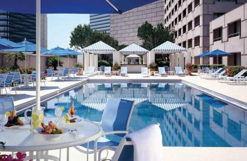 Outdoor Pool at the Hilton Houston Post Oak