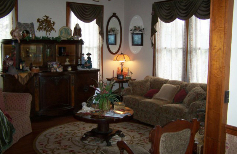 Interior view of Somewhere In Time B & B.