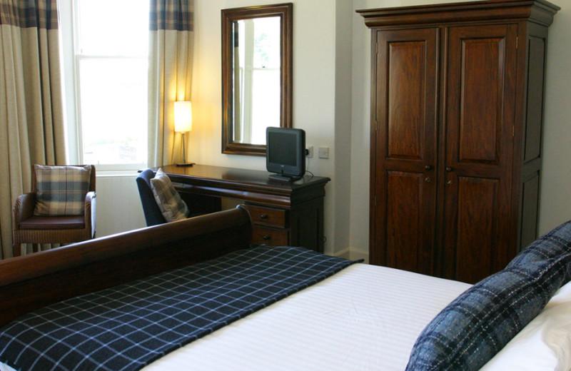 Guest room at Craiglynn Hotel.