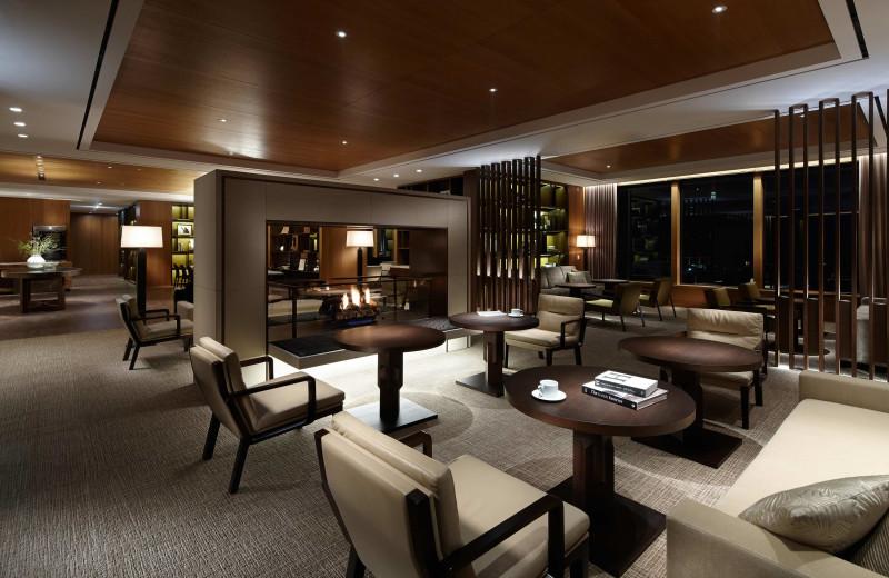 Lounge at Hotel Shilla Seoul.