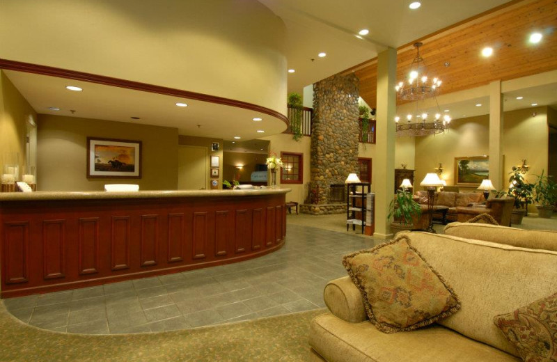 Lobby Area at Forest Suites Resort