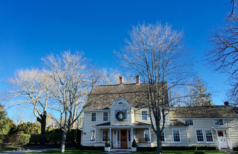 Exterior view of 1708 House.