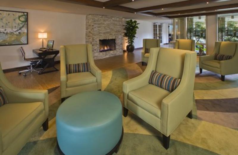 Lobby Seating at Carmel Mission Inn