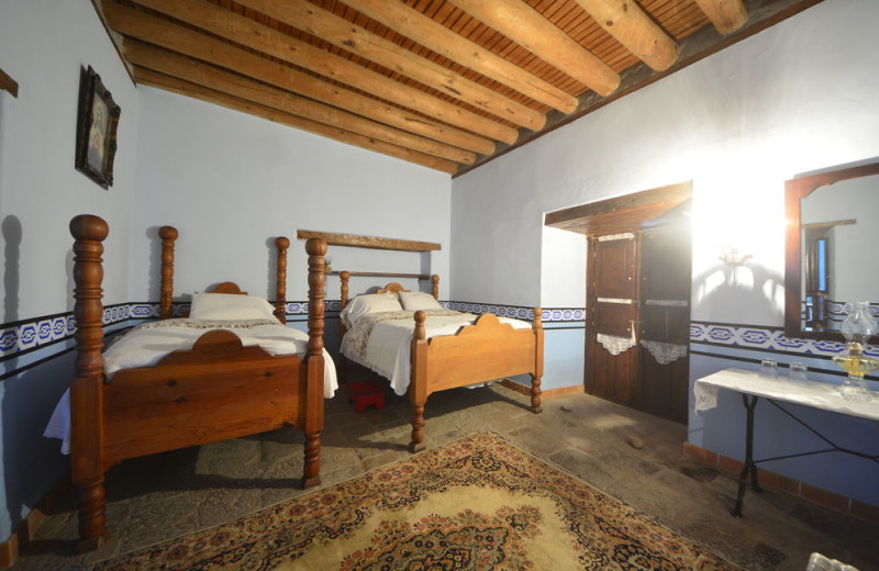 Guest room at Copper Canyon Lodges.