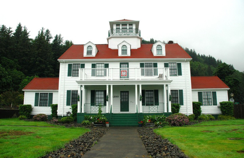 Historic Coast Guard Office near The Garibaldi House Inn.