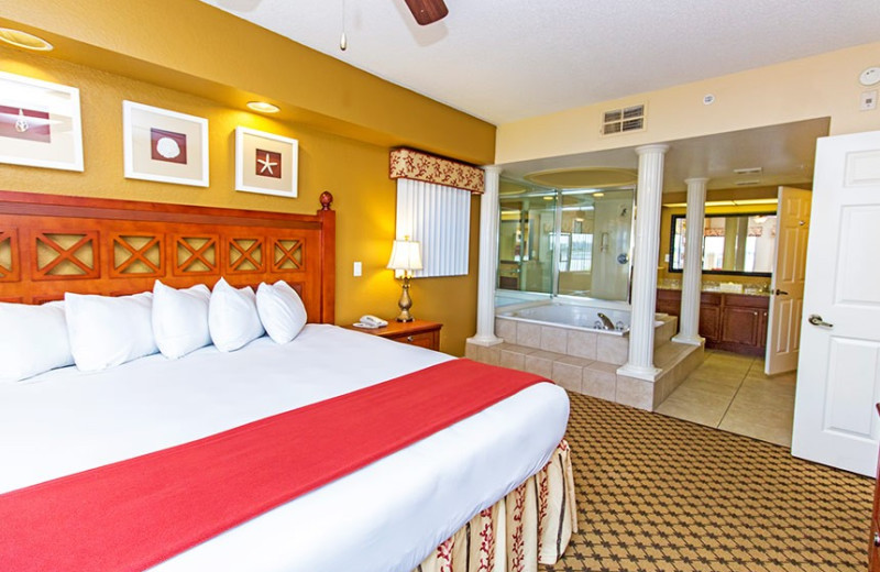Guest room at Westgate Lakes Resort & Spa.