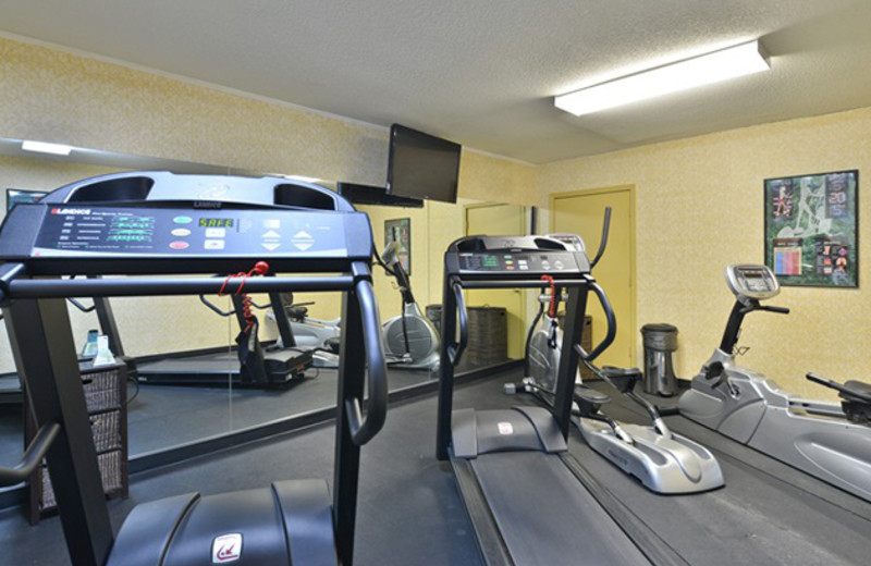 Fitness Center at Best Western Historic Frederick