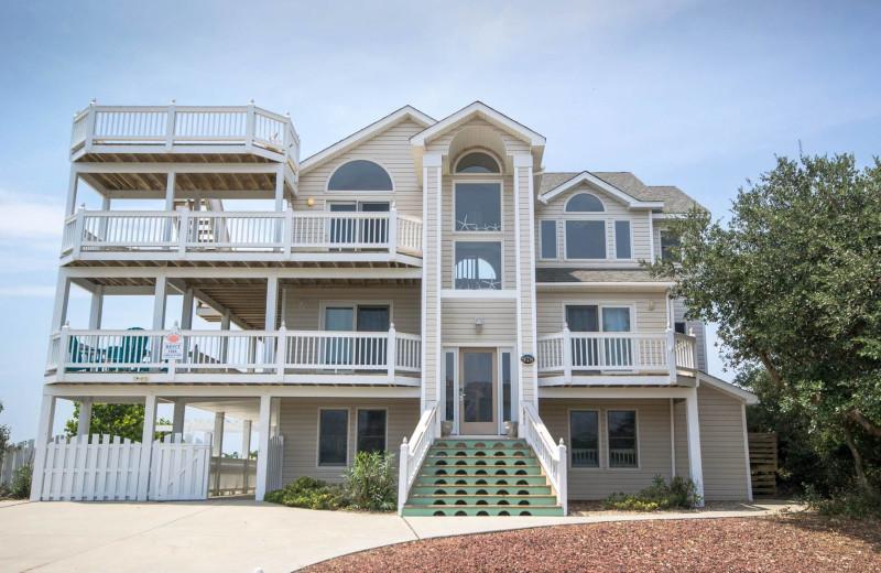 Rental exterior at Beach Realty & Construction.