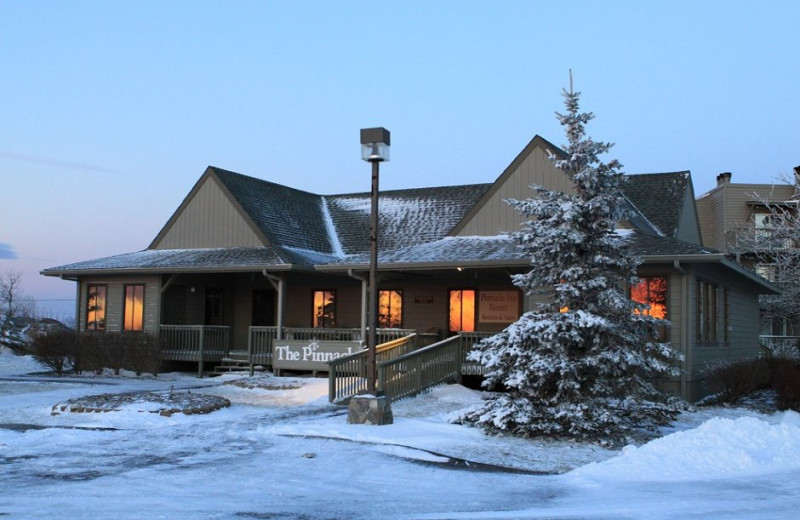 Winter at Pinnacle Inn Resort.