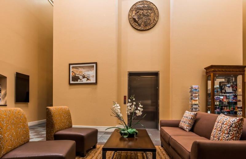 Lobby at Best Western Plus King's Inn & Suites.