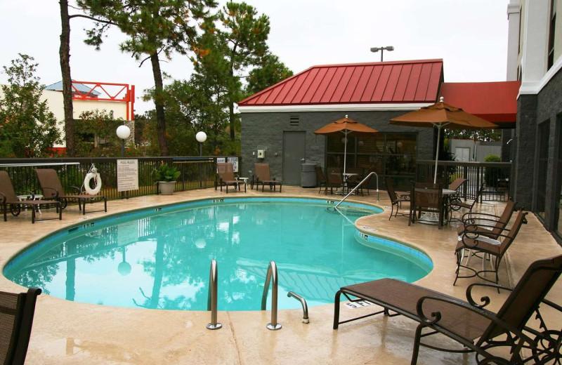 Pool at Hampton Inn Myrtle Beach-West.