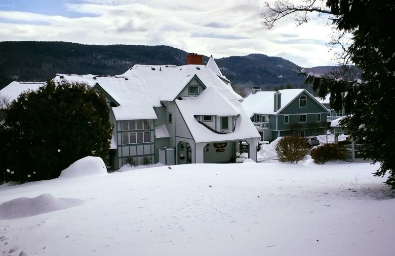 Winter at The Quarters at Lake George.
