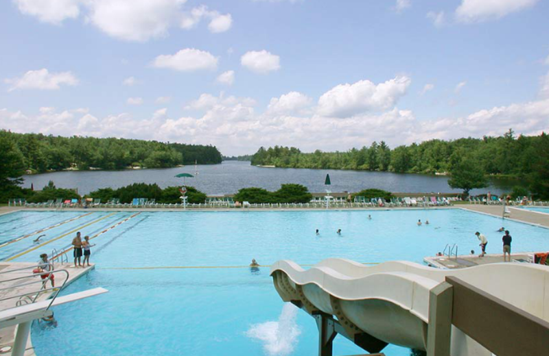 Outdoor Pool at Lake Naomi Club